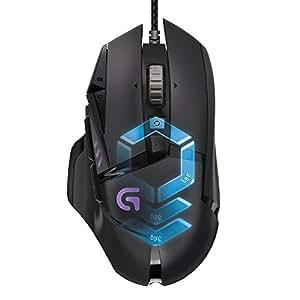 Logitech罗技G502 Proteus光谱RGB可调节游戏鼠标 11个可程式化按钮