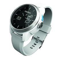 Cookoo watch 蓝牙智能手表 蓝牙4.0 潮流时尚 来电邮件提醒 防水 遥控拍照 防丢防盗(白色)