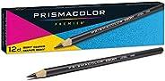 Prismacolor 乌木石墨绘图铅笔,黑色,12支
