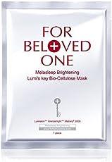 For Beloved One Melasleep 亮肤 Lumi 钥匙 Bio-Cellulose 面具 3 件套