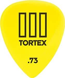 Dunlop 462R.73 Tortex® TIII, Yellow, .73mm, 72/Bag