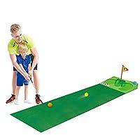 Ao Jie 高尔夫游戏套装,*练习高尔夫球垫,室内室外均适用
