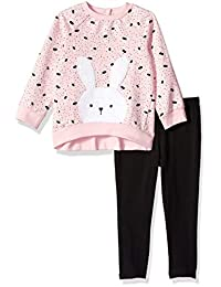 Little Me 女童运动衫套装