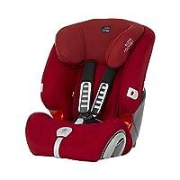 (跨境自营)(包税) Britax 宝得适儿童安全座椅Evolva1-2-3 plus超级百变王 热情红(跨境自营)