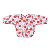MOOMIN BABY 餐具長袖圍嘴 [対象] 0ヶ月 ~ 紅色