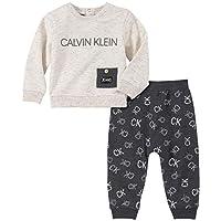 Calvin Klein 男宝宝 2 件套长裤套装