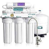 APEC Water 系統 ROES-PH75 六級過濾廚房家用直飲凈水器 pH 值堿性鈣礦物質反滲透飲用水過濾系統(此型號適合歐美高水壓)