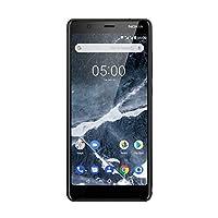 诺基亚 5/5.1 Dual Sim智能手机 - 德国商品(16GB,13万像素相机,Android 7.0)11CO2B01A08AB Model 2018 16GB 黑色
