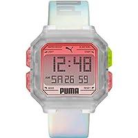 PUMA 彪马 手表 REMIX P5037 正规进口商品 银色