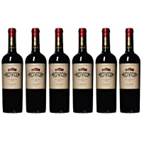 【亚马逊海外直采】Vina Errazuriz 伊拉苏 特级珍藏佳美娜干红葡萄酒750ml*6 (智利进口红酒)