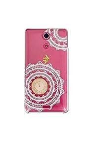 智能手机壳 透明 不可思议的国 爱丽丝 装饰 套 透明壳 硬质 装饰 定制 壳wn-0063936-wy AQUOS PHONE CL IS17SH クローバー02