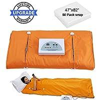CroSight 远红外线桑拿毯 防水热桑拿毯 适用于* 带遥控器 身体塑形 专业** *机 * 健身 *