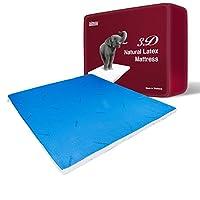 Taipatex天然乳胶升级版3D生态床垫 两面可睡 冷暖可控 6.5cmx150cmx200cm 泰国原装进口