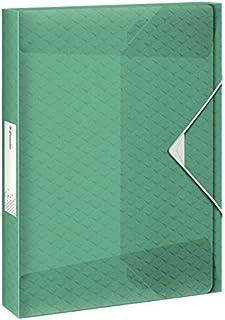 Esselte Colour'Ice 文件盒,A4,40 毫米背宽,PP,绿色,626265