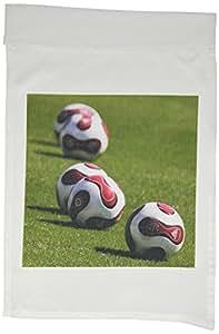 Soccer–足球球–旗帜 12 x 18 inch Garden Flag