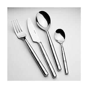 Amefa Monogram Cane High Polish 6 Piece Teaspoon set