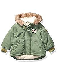 OshKosh B'Gosh 女婴漂亮酷派大衣夹克