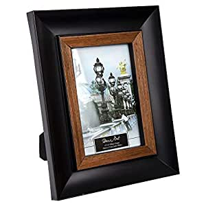 Truu 设计,相框,黑色,米色 黑色 4 x 6-inches 65032