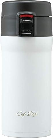 IRIS OHYAMA 爱丽思欧雅玛 咖啡馆 玻璃杯 白色 350ml CD-W350