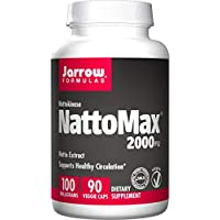 Jarrow Formulas NattoMax 纳豆精华胶囊,100毫克,90粒,素食