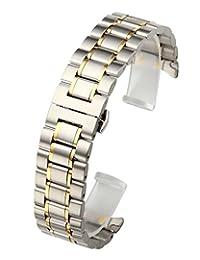 Top PlazaATPUS64336 不锈钢 Silver&Gold ATPUS64336 表带
