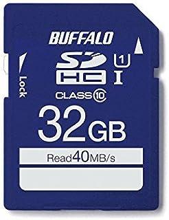 BUFFALO UHS-I Class10 SD卡 RSDC-U1S/N系列RSDC-032GU1S/N 32GB