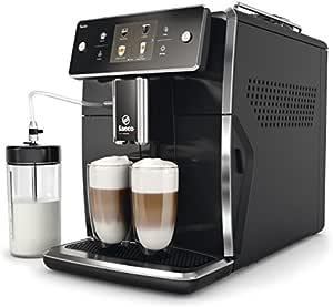Philips Saeco Xelsis 独立全自动浓缩咖啡机 1.6L 黑色 – 咖啡(自由式,浓缩咖啡机,黑色,马克杯,触摸式,1.6 (L)
