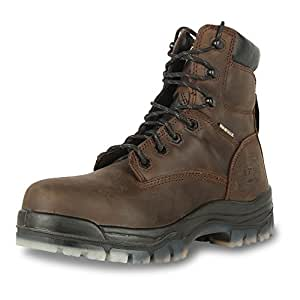 Oliver 45 系列 6 英寸复合鞋*革工装靴 (45633C) 7.5 45637C-BRN-075
