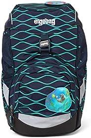 ergobag 中性款 - 儿童 Prime 背包 单肩背包 多色 (泡泡熊)