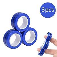 手指磁性环玩具 - 磁铁手链环耐用解锁手指环魔术环道具工具减压器旋转成人玩具