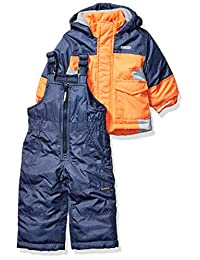 OshKosh B'Gosh 男宝宝滑雪夹克和雪围兜防雪服套装