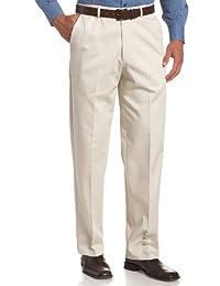 Haggar 男士工作到周末隐藏式可扩展腰围免熨烫无痕前裤 String 44W x 29L