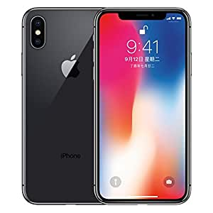 Apple iPhone X 全网通4G智能手机 现货发售 国行正品 全国联保 (深空灰, 64G)