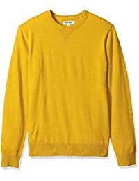 Amazon Brand - Goodthreads 男式轻质美利奴羊毛圆领毛衣