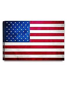 """DECORARTS 国家旗。 艺术微喷油画印刷品家居墙饰 60.96x40.64 cm America 36x24"""" P71002C253624"""