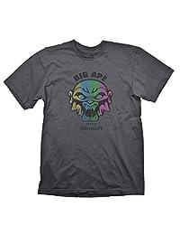 星状大号 Ape T 恤 Large 灰色
