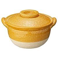 長谷制陶 (Nagatani Seitou) 陶鍋 橙色 180ml 長谷園 小鍋 橙色 NCK-58