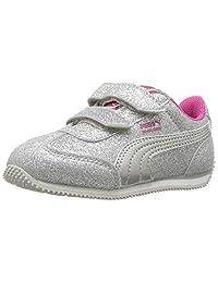 PUMA 儿童 Whirlwind Glitz Velcro 运动鞋