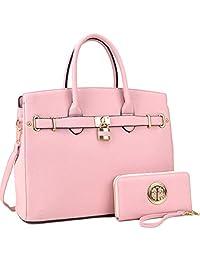 MMK 系列女士手提包~时尚人造皮革挎包手提包~ 完美尺寸设计师女士手提包