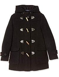 [橄榄球场] 橄榄球学校 双排扣带大衣拉链[炭灰色] 女孩 1J90009-08