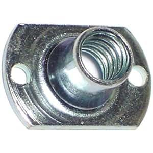 Hard-to-Find Fastener 014973404000 珠孔 T 恤螺母,1/4-20 x 1/4 英寸,12 件