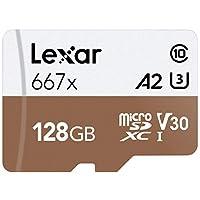 Lexar Professional 667x 64GB microSDXC UHS-I/U3 卡LSDMI128BNA667A 128GB