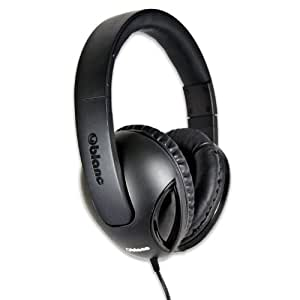 Syba Oblanc NC-1 Cobra Over-Ear Headphones with In-line Microphone - Retail Packaging 黑色