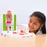Thames & Kosmos Ooze Labs: Soap & Bath Bomb Lab Science Experiment Kit & Lab Setup, 10 Experiments In Cosmetology & Biology