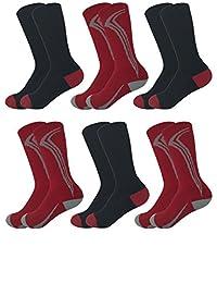 Best Brand Basics 青少年 6 双装运动加垫男孩水手袜