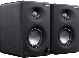 Alesis M1A330USB 工作室监视器 专业 USB 桌面扬声器系统(一对)带 USB 音频接口,3 英寸铝扬声器和低音音音音音响。
