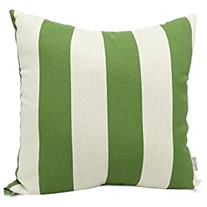 Majestic Home Goods Pillow, X-Large, Vertical Stripe, Sage