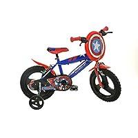 Dino Bikes 416U-CAGB 16-Inch Captain America Bicycle