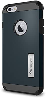 Spigen TOUGH ARMOR iphone 6plus 保护套带支架和 EXTREME 厚重保护套 AIR 靠垫技术适用于 iPhone 6S PLUS/iphone 6plus Metal Slate