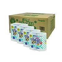 【整箱贩卖】企鹅 超长型纸浆 厕所卷轴 250m 4卷 单个 4包